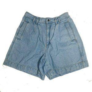 Lizwear Shorts Womens Size 12 Petite Blue Denim 10